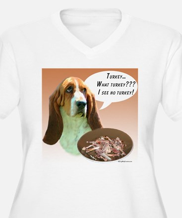 Basset Hound Turkey T-Shirt