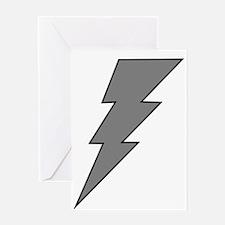 The Lightning Grey Shop Greeting Card