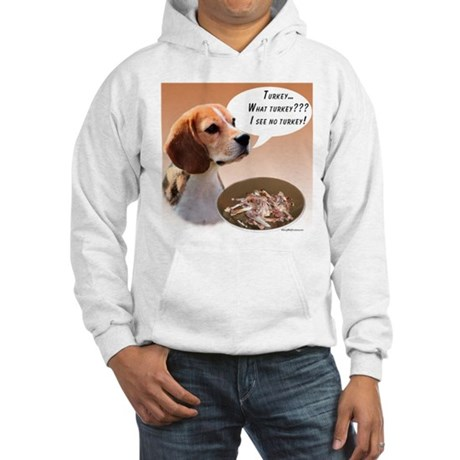Beagle Turkey Hooded Sweatshirt