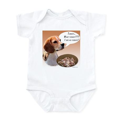 Beagle Turkey Infant Bodysuit