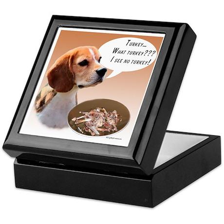 Beagle Turkey Keepsake Box
