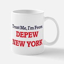 Trust Me, I'm from Depew New York Mugs