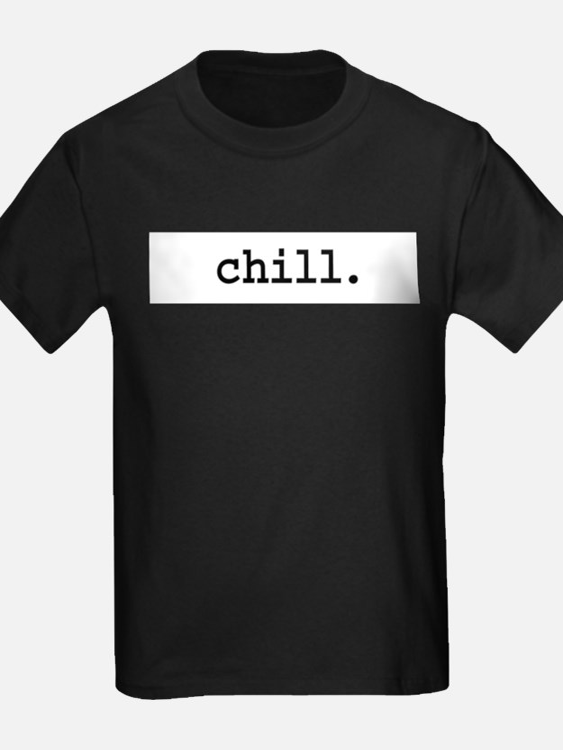 chill. Ash Grey T-Shirt