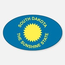 Flag of South Dakota 1909–1963 Decal