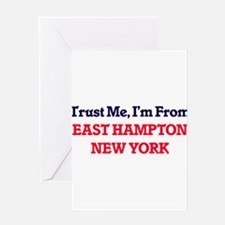 Trust Me, I'm from East Hampton New Greeting Cards