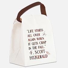 American literature Canvas Lunch Bag