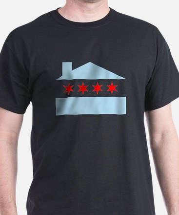 Chicago House Flag T-Shirt