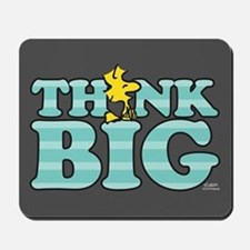 Woodstock-Think Big Mousepad