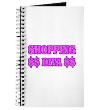 Shopping Diva Gifts Journal