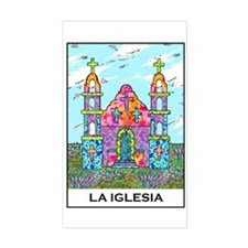 La Iglesia Rectangle Decal