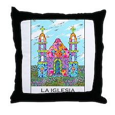La Iglesia Throw Pillow