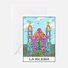 La Iglesia Greeting Card
