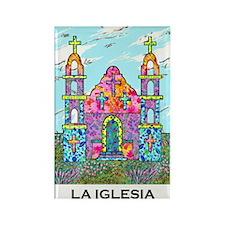 La Iglesia Rectangle Magnet