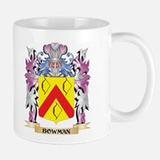 Bowman Coat of Arms (Family Crest) Mugs