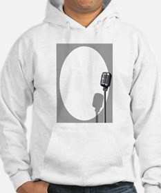 Musical Event Microphone Poster Hoodie