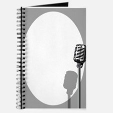 Musical Event Microphone Poster Journal