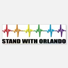 Stand With Orlando Bumper Bumper Sticker