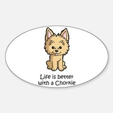 Life Is Better With A Chorkie Bumper Stickers