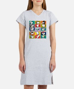 Snoopy-You Can Be Anything Women's Nightshirt