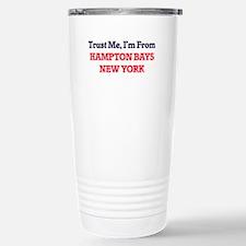 Trust Me, I'm from Hamp Stainless Steel Travel Mug