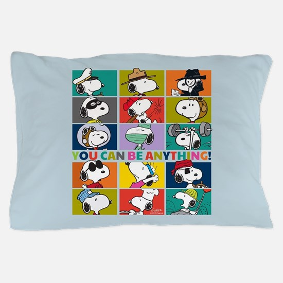 Snoopy-You Can Be Anything Pillow Case