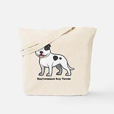 Cute Love a bull Tote Bag