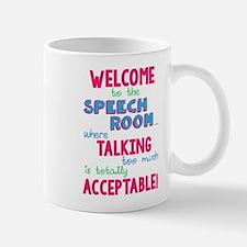 Welcome To Speech Mug Mugs