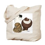 Three Pigeons Tote Bag