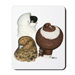 Three Pigeons Mousepad
