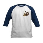 Three Pigeons Kids Baseball Jersey
