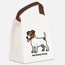 Cute Russell terrier Canvas Lunch Bag