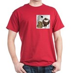 Three Pigeons Dark T-Shirt