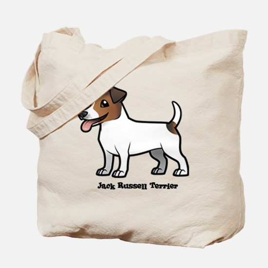 Cute Jack russell terrier Tote Bag