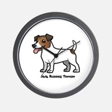 Unique Russell terrier Wall Clock