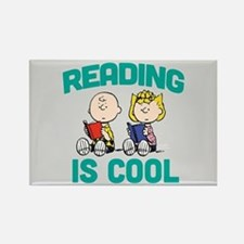 Charlie & Sally Brown-Reading is Rectangle Magnet