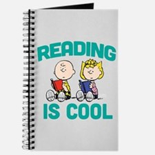 Charlie & Sally Brown-Reading is Cool Journal