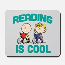 Charlie & Sally Brown-Reading is Cool Mousepad