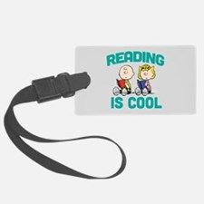 Charlie & Sally Brown-Reading is Luggage Tag