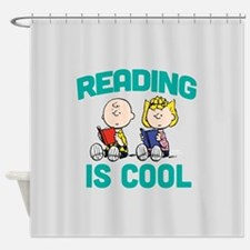 Charlie & Sally Brown-Reading is Co Shower Curtain