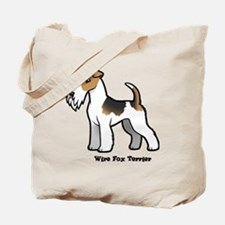 Cute Professional wire fox terrier Tote Bag