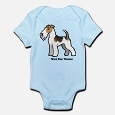 wire fox terrier Body Suit