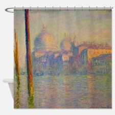 Grand_Canal,_Venice,_1908_by_Claude Shower Curtain