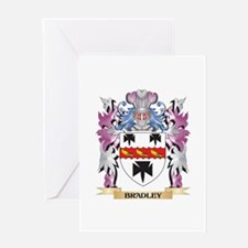 Bradley Coat of Arms (Family Crest) Greeting Cards