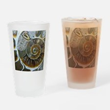 Cute Fossil Drinking Glass