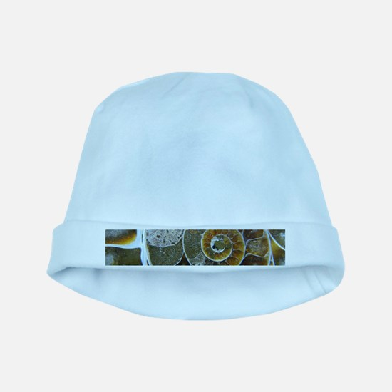 Ammonite baby hat