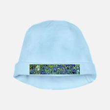 Van Gogh Iris baby hat