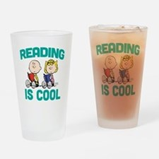 Charlie & Sally Brown-Reading is Co Drinking Glass