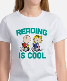 Charlie & Sally Brown-Reading is C Women's T-Shirt