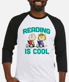 Charlie & Sally Brown-Reading is C Baseball Jersey