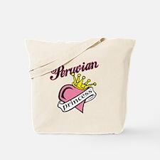 Peruvian Princess Tote Bag